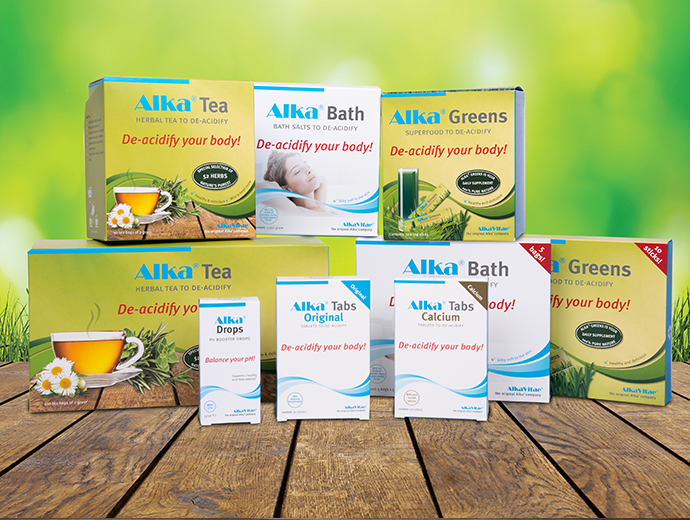Balance your pH with  Alka ®